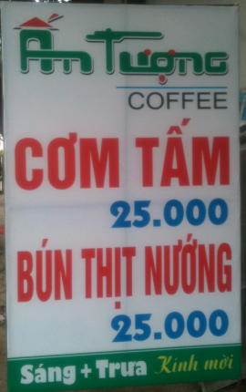 an tuong cafe sai gon