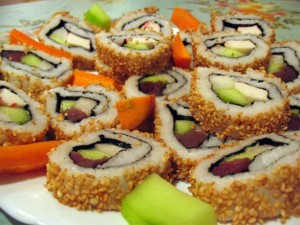 cach lam sushi 4